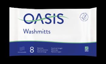 Oasis® 8 Washandjes Geparfurmeerd Verzorgend Wassen
